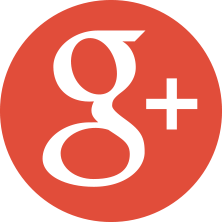 This is a photo of the red google plus logo