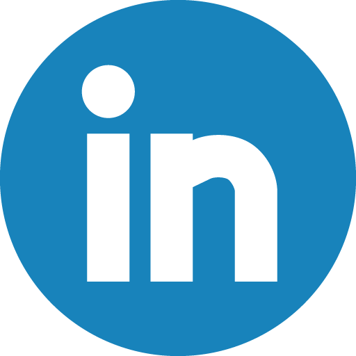 This is a photo of the blue linkedin logo